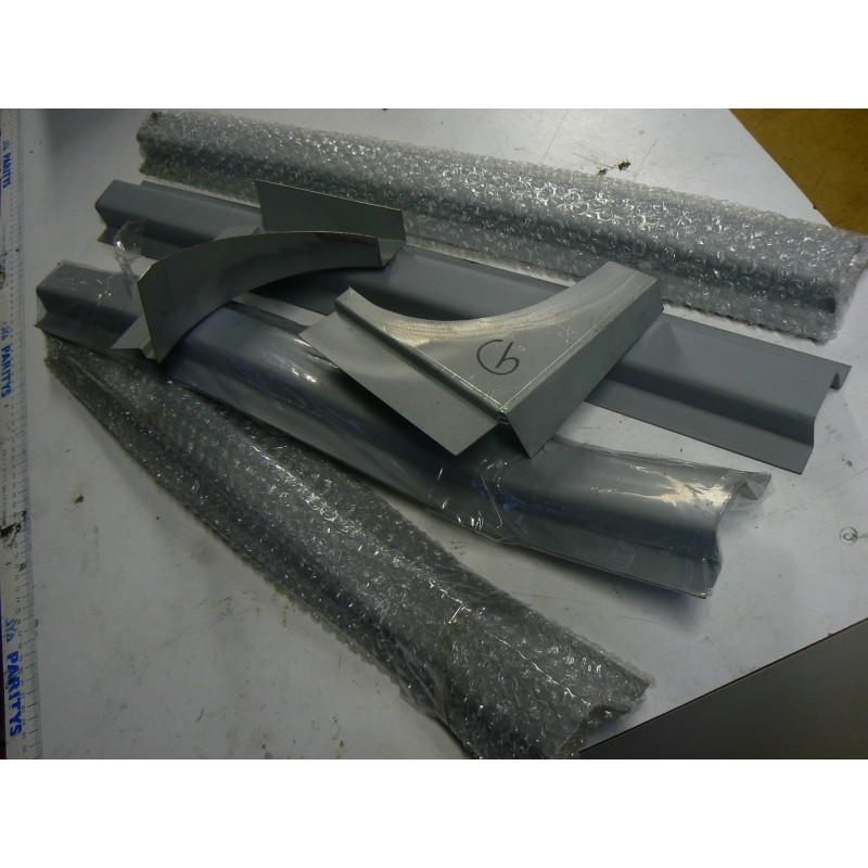 kit de reparation bas de caisse 4cv