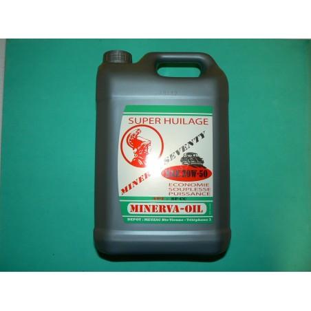 bidon 5 litres  huile  20w50
