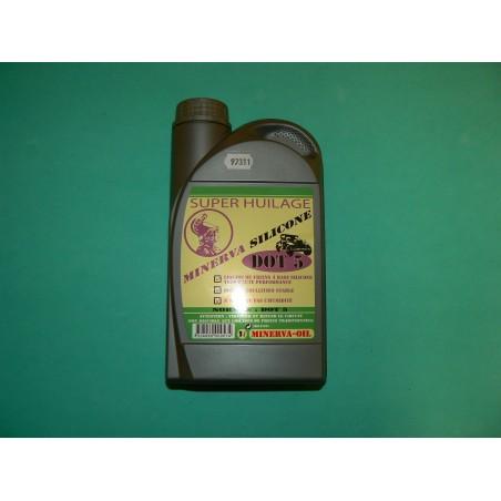 Bidon de liquide de frein silicone 1l