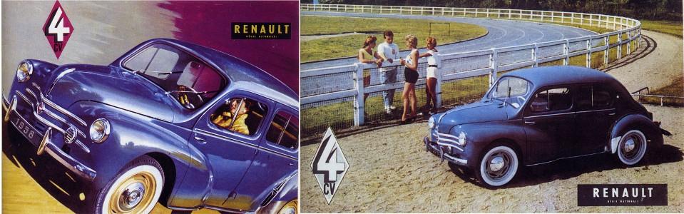 Pièces pour Renault 4cv
