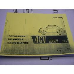 catalogue pieces detachees 4 cv 4cv. Black Bedroom Furniture Sets. Home Design Ideas